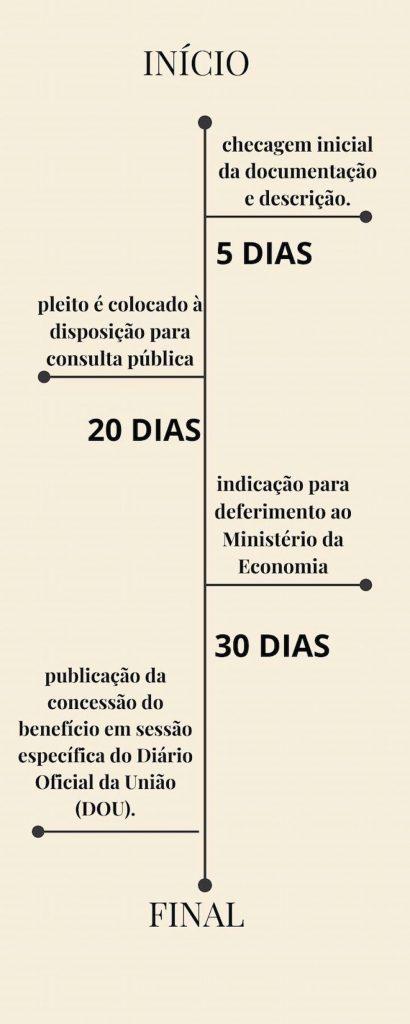 Organização do cronograma